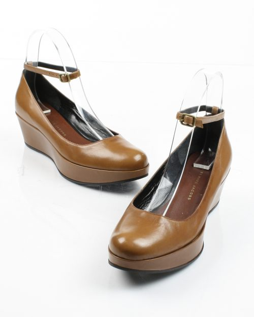 Marc by Marc Jacobs, Brown Platform Flats-Size 37 1/2-4485