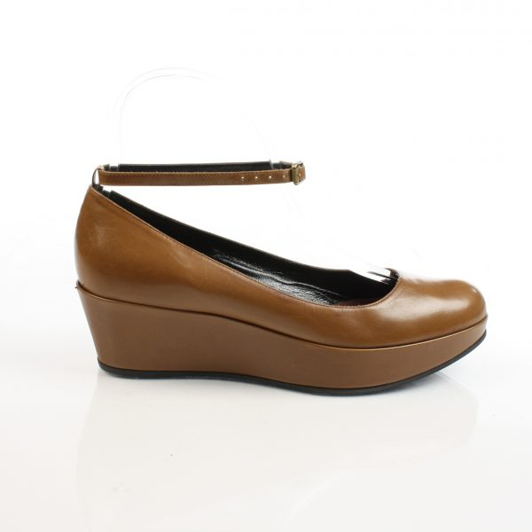 Marc by Marc Jacobs, Brown Platform Flats-Size 37 1/2-4486