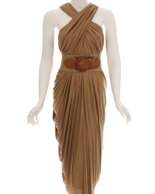 Donna Karan, Grecian Dress-Size M-3536