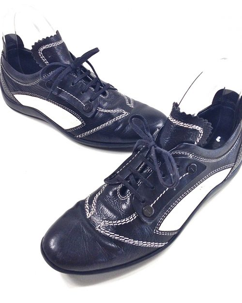 Tod's, Black Leather Sneaker-Size 37-3756