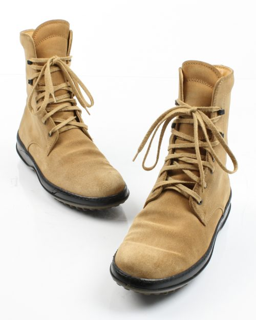 Tod's, Camel Lace-Up Boot - Size 37-4428