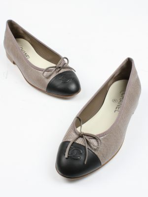 Chanel Ballet Flats - Size 38.5-4537